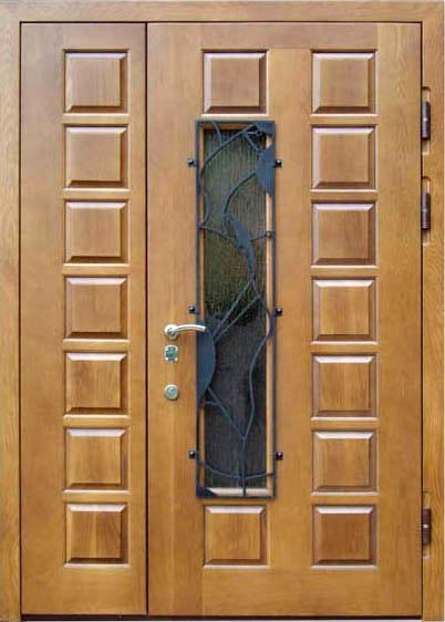 железные двустворчатые двери купить
